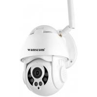 Wanscam K38D 2MP FULL HD 1080P 360° PTZ Pan Tilt IP camera Gezichtsherkenning 6mm lens wifi ondersteuning 4x optische zoom nachtzicht buiten camera IP66 waterdicht, audio nachtzicht opnemen + geluid