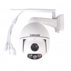 WANSCAM K54 2MP FULL HD 1080P 360° PTZ Pan Tilt IP camera 2.8-12mm lens wifi ondersteuning 4x optische zoom nachtzicht buiten camera IP66 waterdicht, audio nachtzicht opnemen + geluid