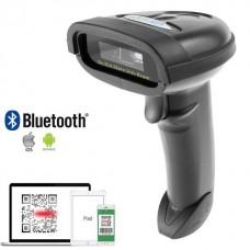 Draadloos/USB barcode scanner 1D/2D/QR Laser Plug&Play